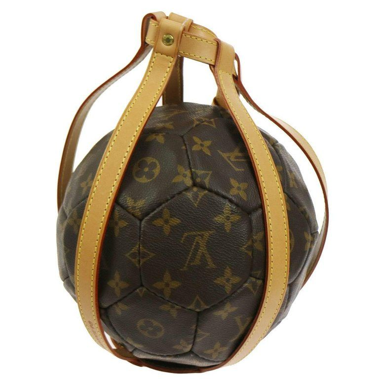 Louis Vuitton Monogram Soccer Ball Leather Carrying Holster With Images Louis Vuitton Monogram Louis Vuitton Alma Bag Louis Vuitton