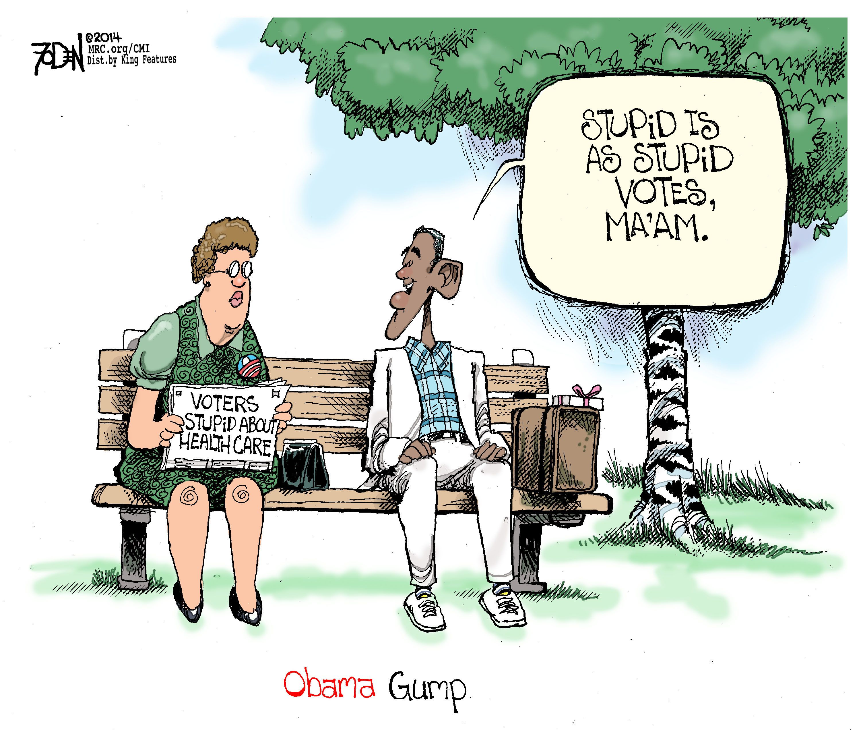 Ocare is like a box of chocolates