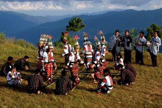 Bamboo Dancers of Mizoram