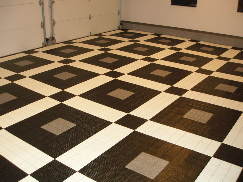 Garage Floor Tiles Flooring Tile Designs Ideas Design Trends