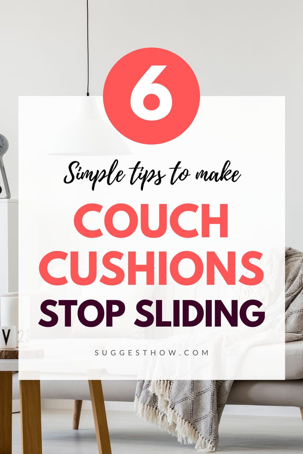How To Stop Couch Cushions From Sliding 6 Tips You Can Follow In 2020 With Images Couch Cushions Cushions Furniture Repair