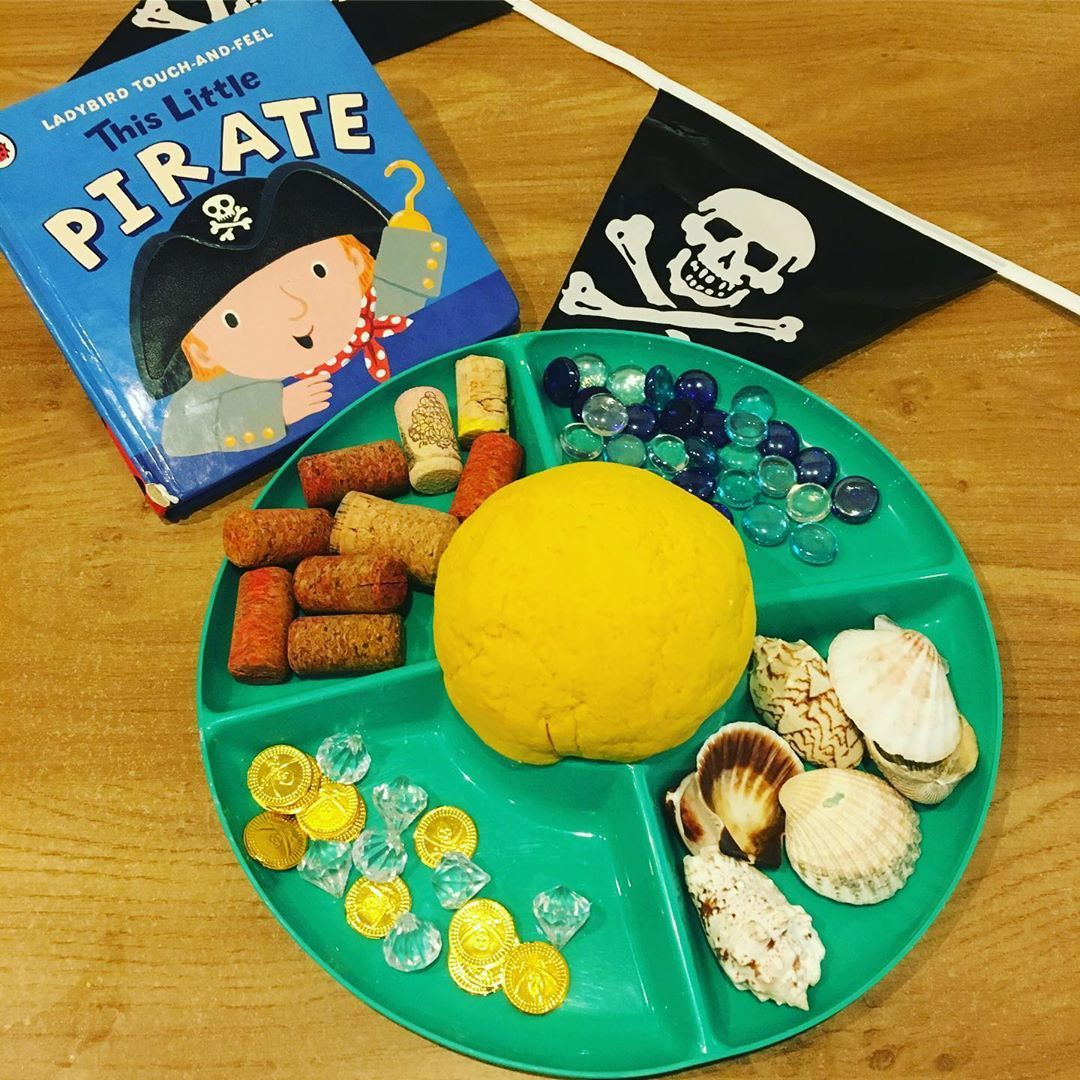 We Re Doing A Mini Little Pirate Theme This Week It Was