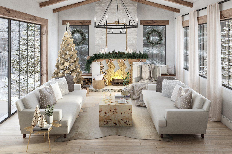 I Think My Living Room Oozes Christmas If I Say So Myself Christmas Living Rooms Christmas Decorations Living Room Simple Christmas Decor