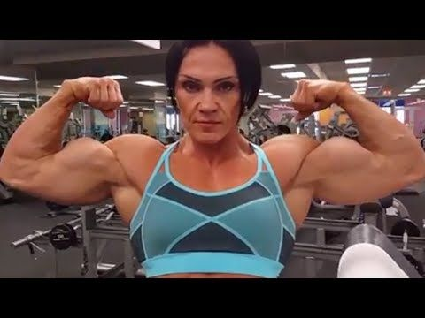Women with huge biceps