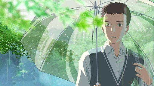 The Garden Of Words Takao Akizuki Garden Of Words Anime Japanese Animated Movies