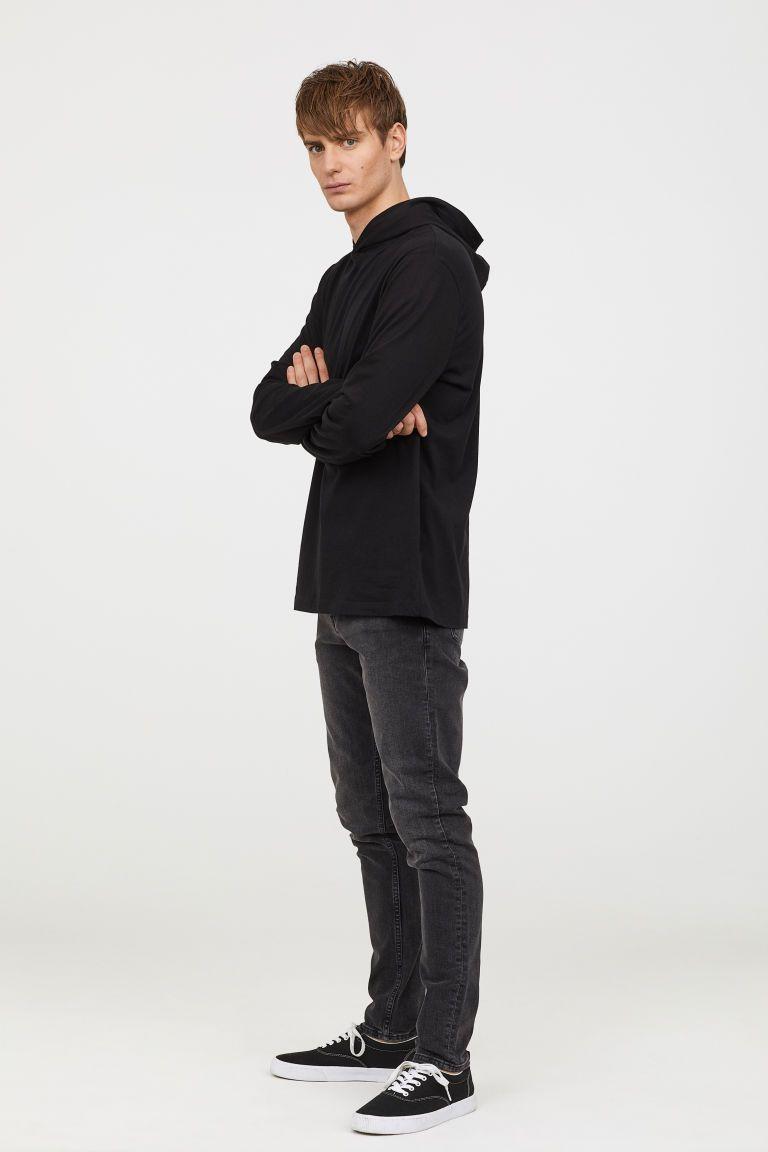 0fb702a51c812c H&M Skinny Jeans - Black   For My Boys   Jeans, Stretch denim, Men