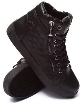 984376854dca Buy Perry Quilted Side Zip High Top Sneaker Women's Footwear from Fashion  Lab. Find Fashion Lab fashions & more at DrJays.com