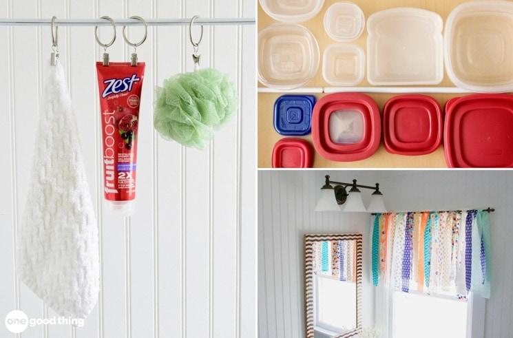 17 der besten Möglichkeiten, Spannstangen zu verwenden, um sich zu organisieren