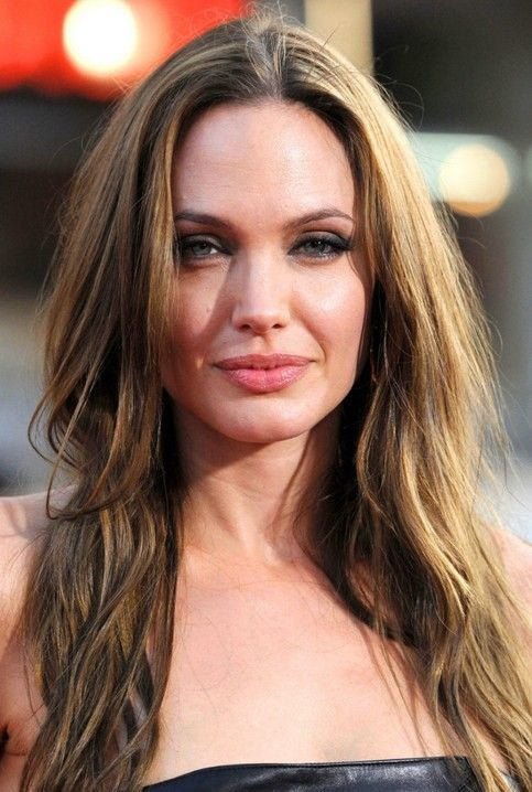 Angelina Jolie Long Hairstyle Honey Blonde Layered Haircut Pretty Designs Angelina Jolie Hair Hairstyle Angelina Jolie Photos