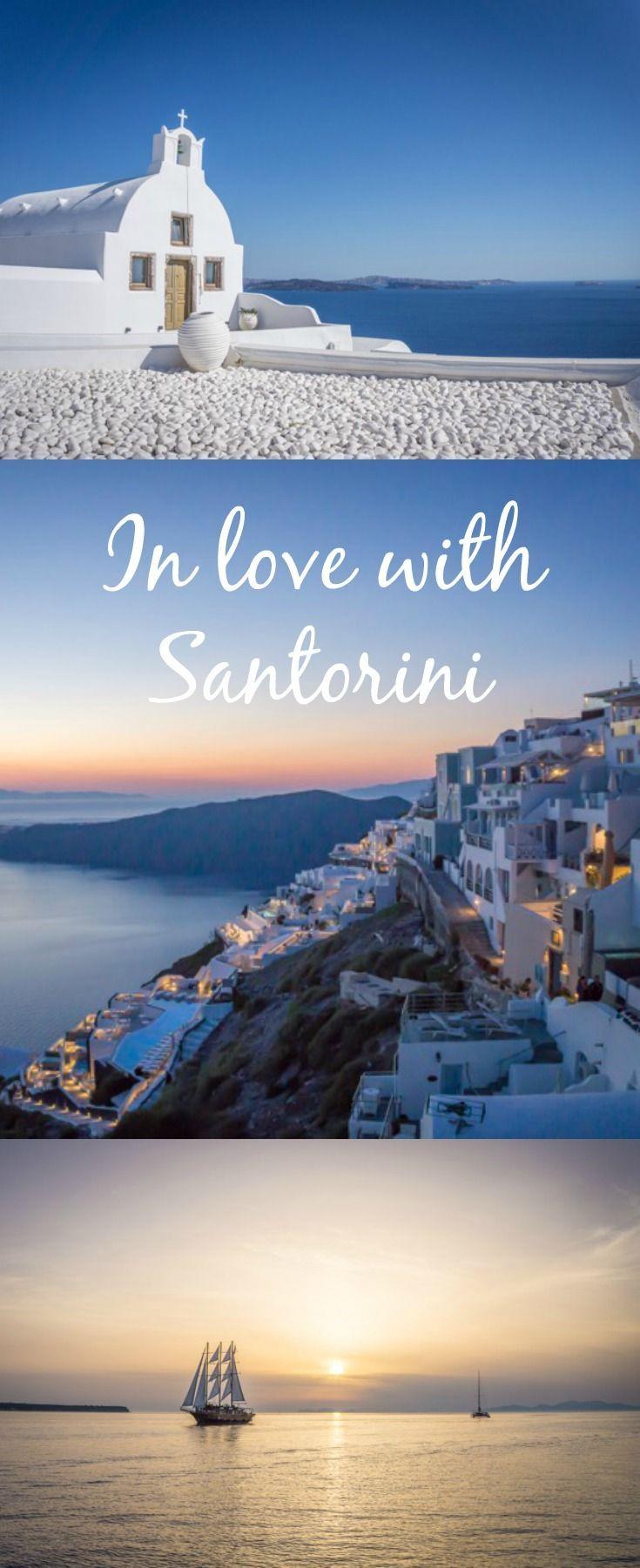 Santorini - Der große Zauber einer kleinen Insel in Griechenland #blue