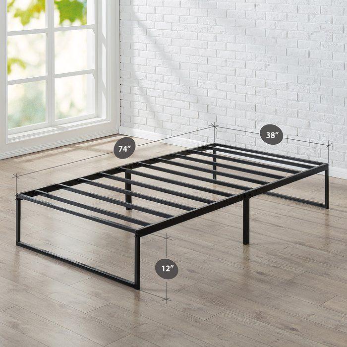 Platform Twin Bed Frame เฟอร์นิเจอร์