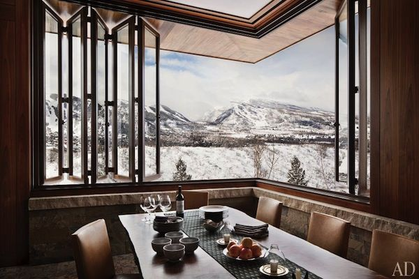 Mountain Home  Rustic Decor Aspen And Dining Room Table Gorgeous Aspen Home Dining Room Furniture Design Inspiration