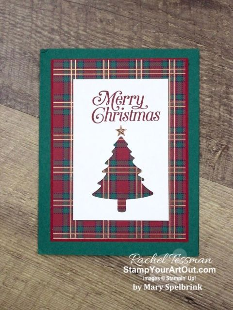 Handmade Christmas Cards 2019 #stampmaking