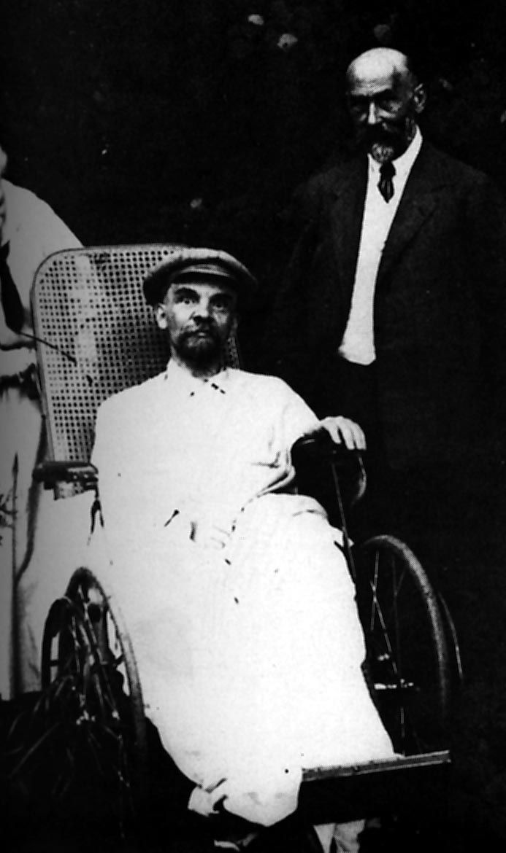 V. I. Lenin in Gorky. Gorky.  Summer 1923  Photographer: M. I. Ulyanova.