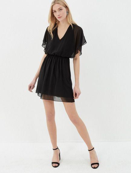 2018 Koton Elbise Modelleri Sari Kisa Kolsuz Arkadan Fiyonk Detayli Elbise Modelleri The Dress Moda Stilleri