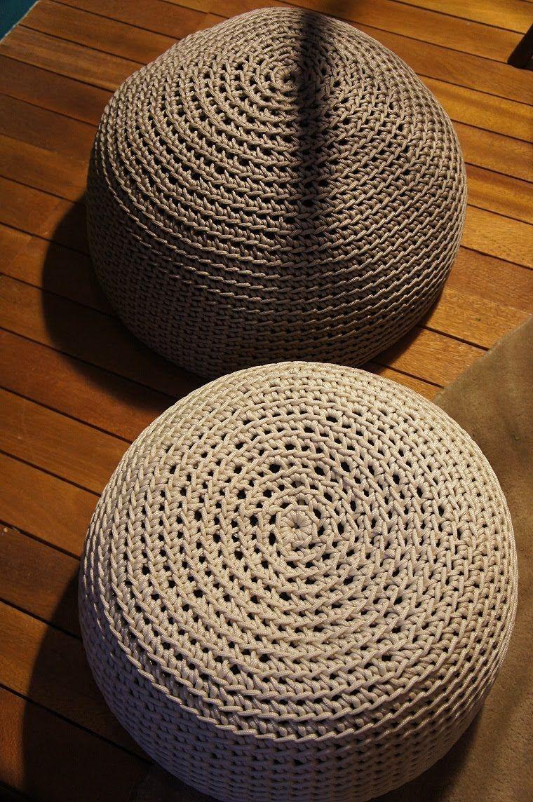 Receitas de Crochet: Croche para sentar | Crochet/Knitting/Weaving ...