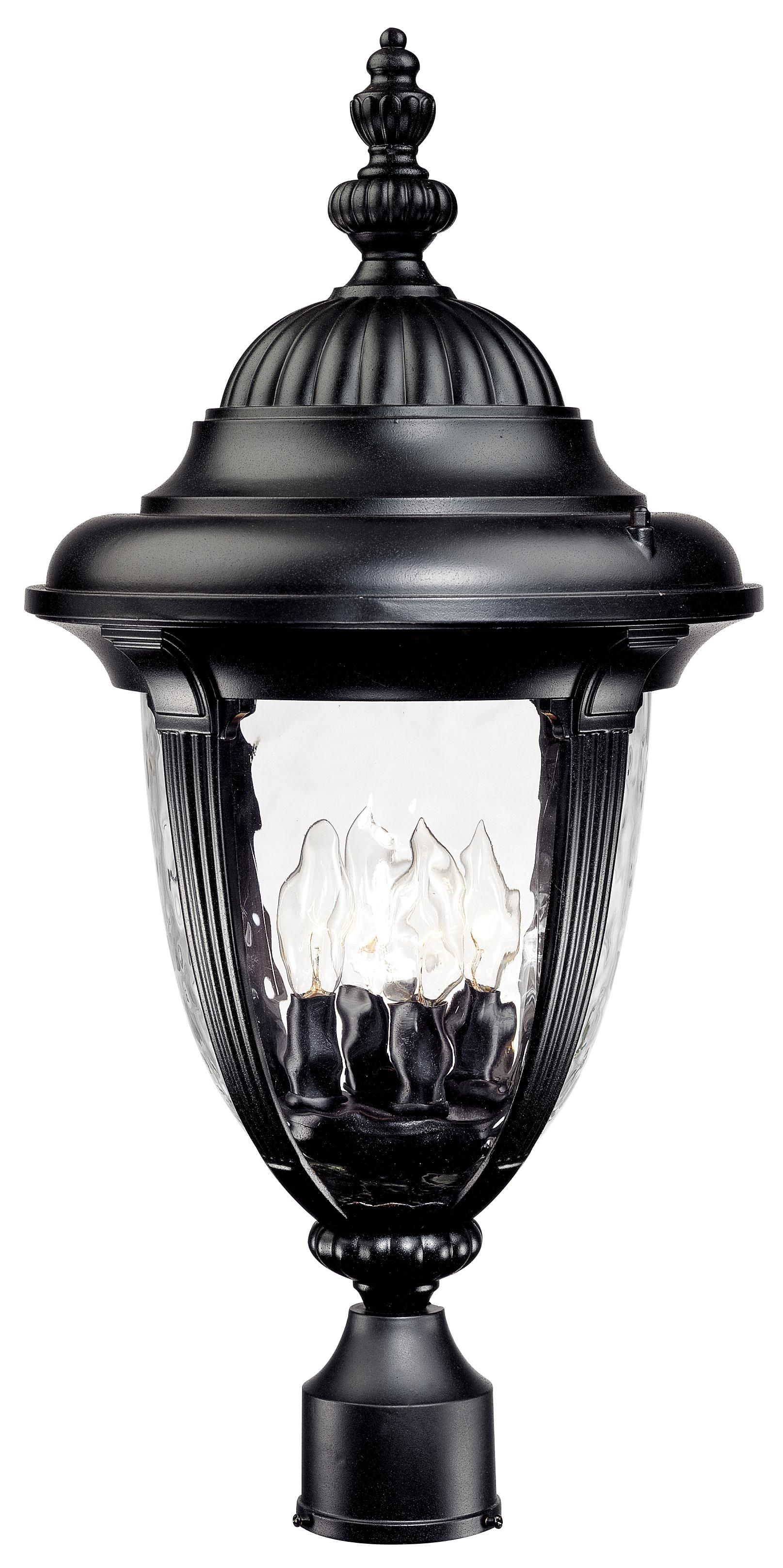 Bellagio Collection 24 1 2 High Black Outdoor Post Light 49274 Lamps Plus Outdoor Post Lights Outdoor Post Post Lights