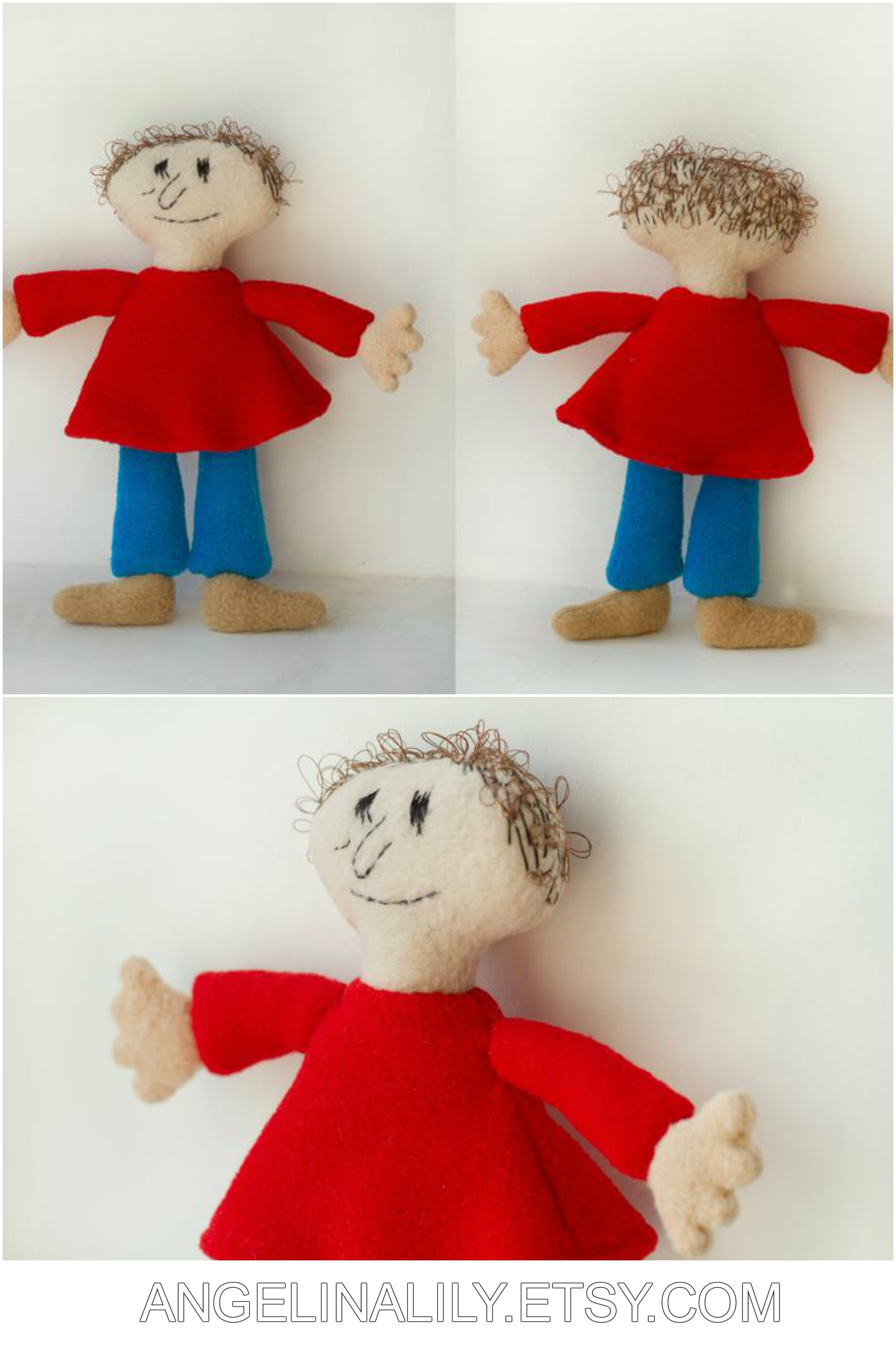 Playtime Plush Handmade Soft Doll 9 In High S Izobrazheniyami