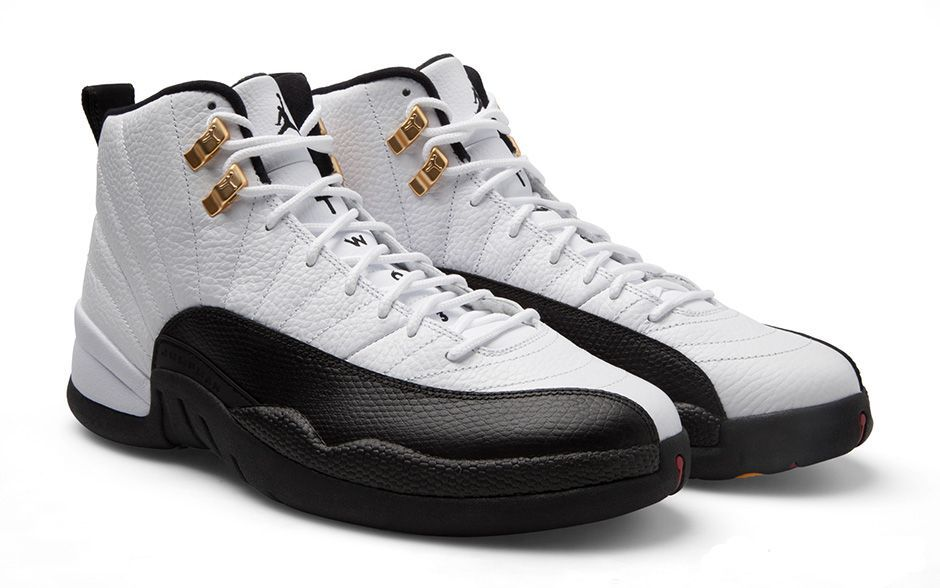 separation shoes 53b4c e2e6f Air Jordan Retro 12 'Taxis' as worn by Jay Z--herpinkjersey ...