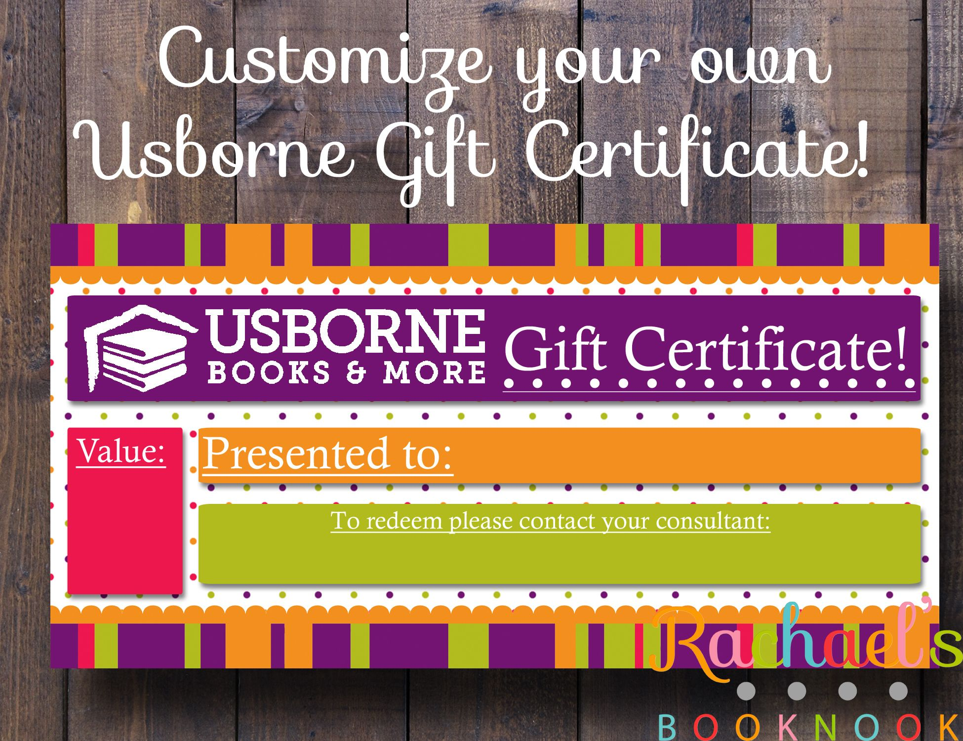 Best 25 Gift certificates ideas – Make Your Own Gift Certificates Free