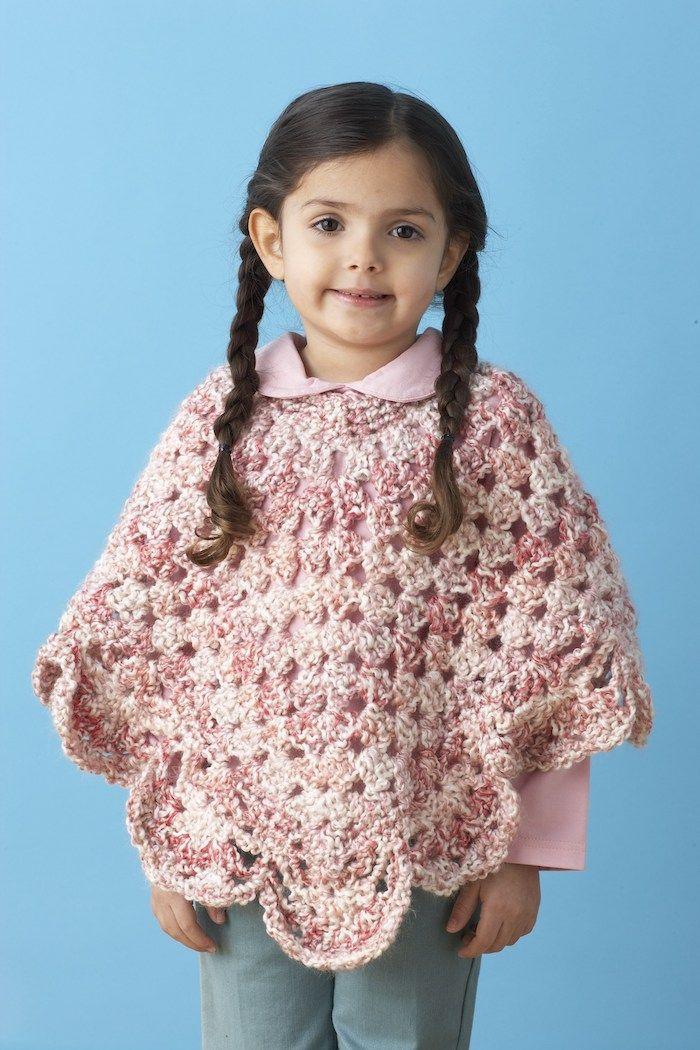 ▷ 1001 + Ideen für Poncho stricken zum Entlehnen | Rosa blusen ...