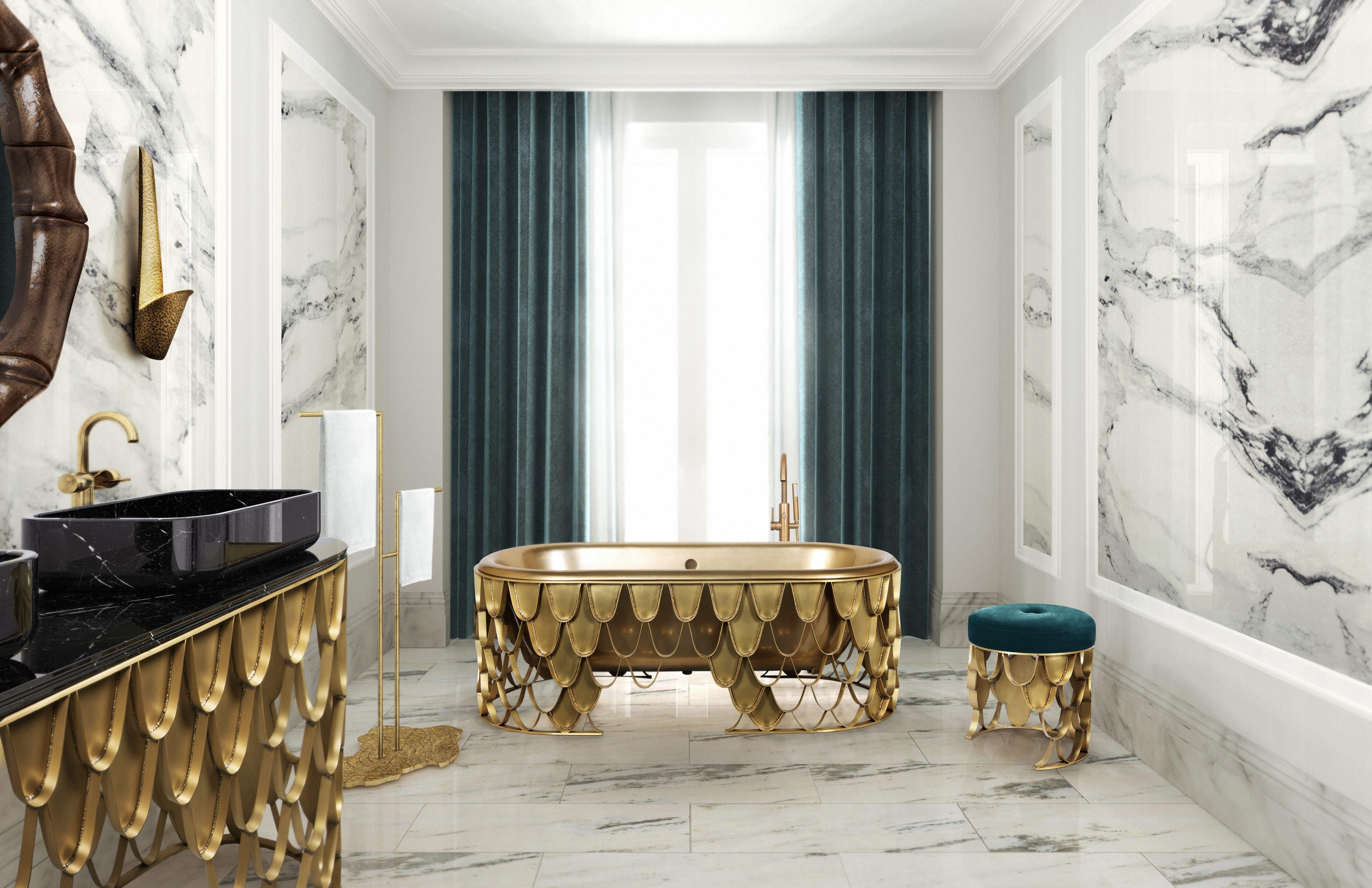 6 Magical Ideas For Your Modern Bathroom Decor   Modern luxury ...