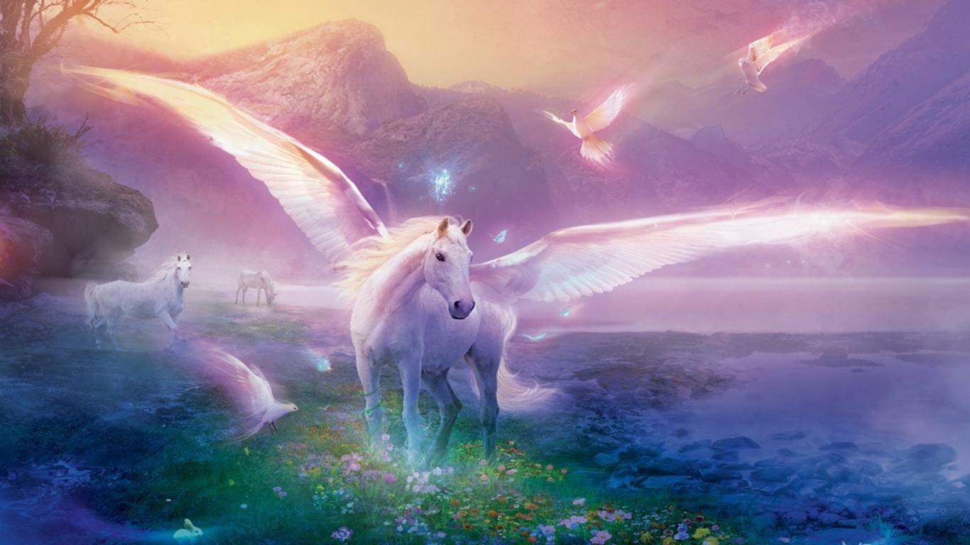 Free Download Hd Fantasy Flying Horse Facebook Timeline Cover