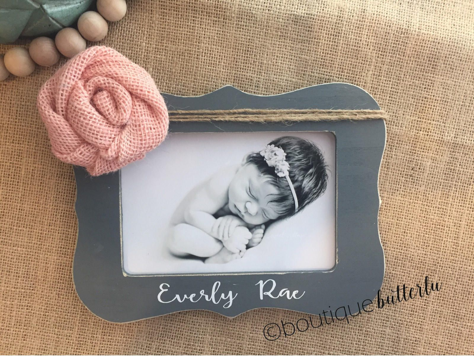 New baby girl gift personalized baby girl gift love at first new baby girl gift personalized baby girl gift love at first sight frame jeuxipadfo Images