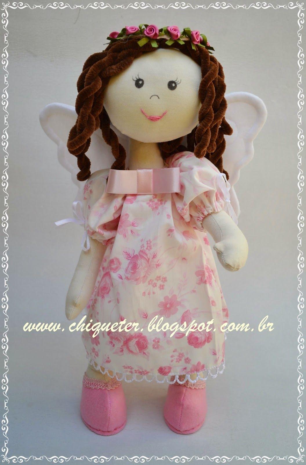 Fada rosa, mais uma integrante na a família das Lilinhas!