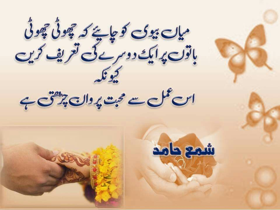 Pin by Umme Mohammad on husband and wife quotes | Wife ...