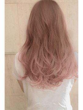 ブリーチなしのアディクシーカラー 髪色 ピンク 髪 色 明るめ ヘア