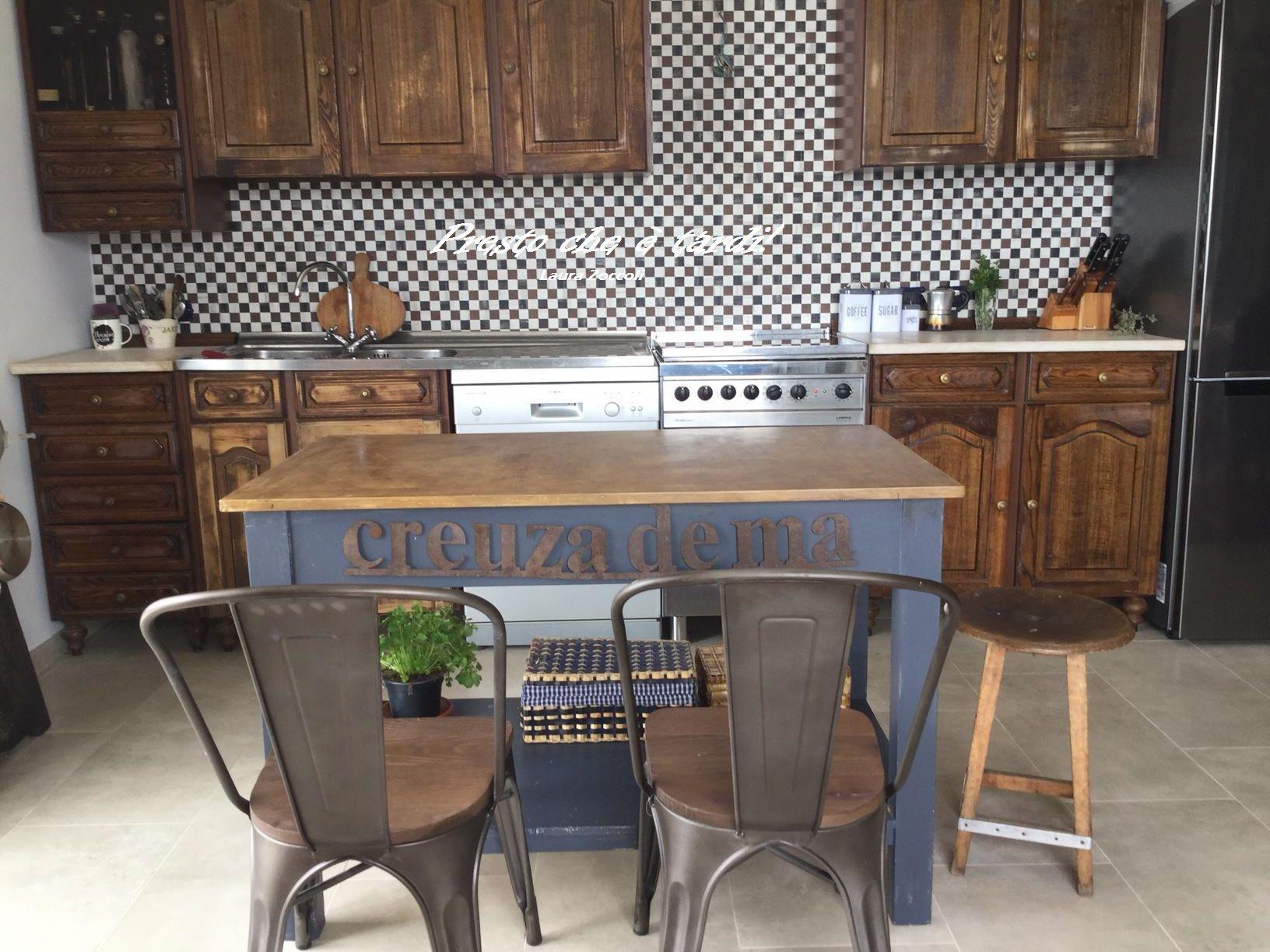 riciclando la vecchia cucina Anni Ottanta - la mia casa a ...