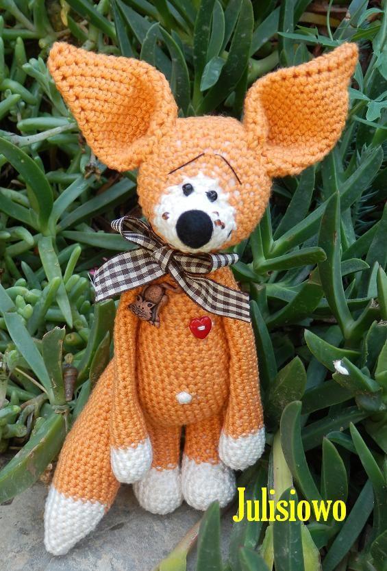 Crochet Fox, ganchillo Zorro, PDF pattern Etsy,   Stuff I would love ...