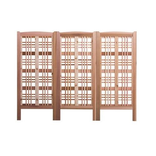 Arboria Enhance Your Lawn Or Landscaping Using The Arboria Claremont Cedar Landscape Screens Placi Wooden Room Dividers Bamboo Room Divider Room Divider Walls