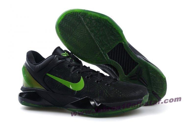 4c2325e7dc5e Nike Zoom Kobe 7(VII) NBA Shoes Black Yellow