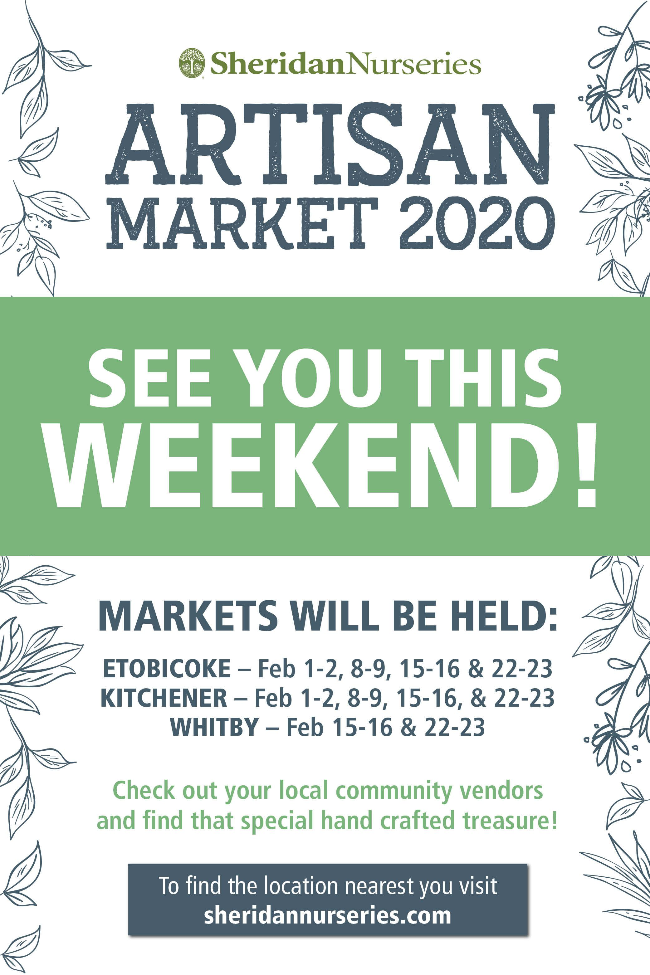 Find Your Local Garden Centre And Check Out Our New Event We Teamed Up With Various Local Vendors To Bring You So In 2020 Sheridan Nurseries Happy House Garden Center