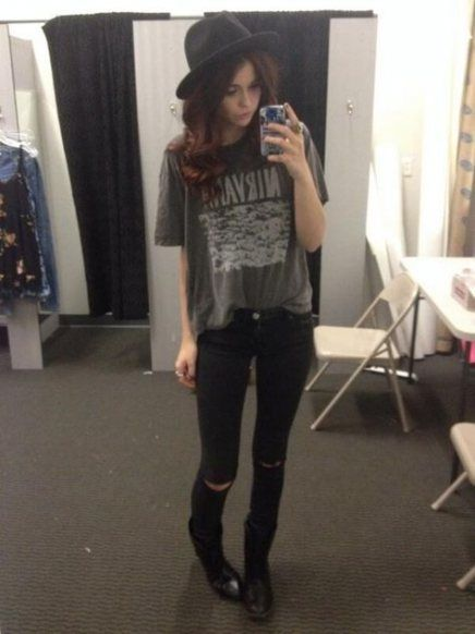 Best Fashion Style Edgy Soft Grunge Outfit 23 Ideas