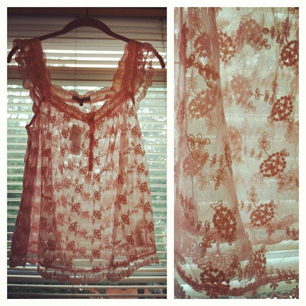 Vintage Pretty Lace Blouse   @storytaleshop- #webstagram  http://storytaleshop.blogspot.com/