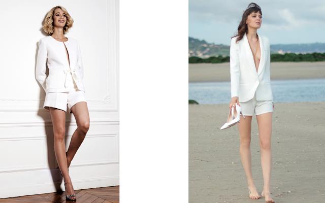Les tailleurs blancs de mariées (avec images)