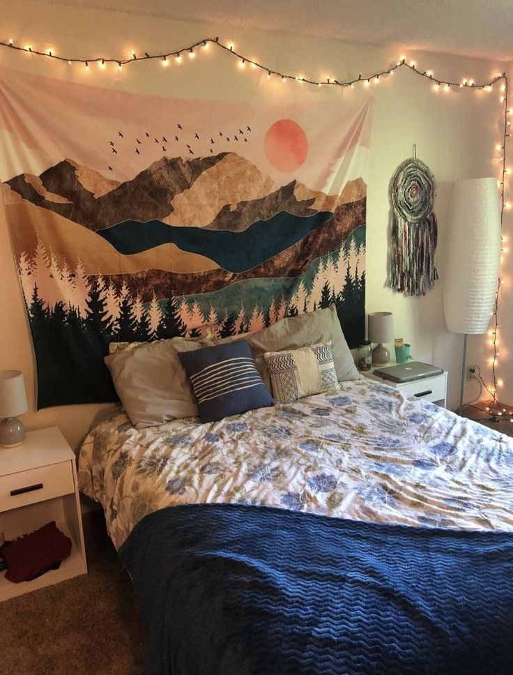 Sunset Mountain Tapestry 🏔