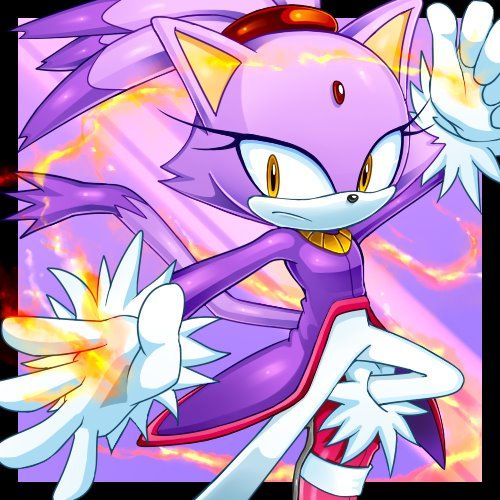 Blaze The Cat(Guardian of the Sun) by CristianHarold0000 on deviantART