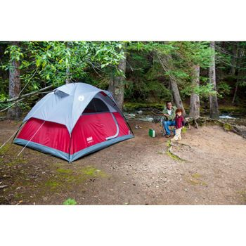 Coleman® 4-Person Flatwood Dome Tent  sc 1 st  Pinterest & Coleman® 4-Person Flatwood Dome Tent | Camping | Pinterest | Dome ...