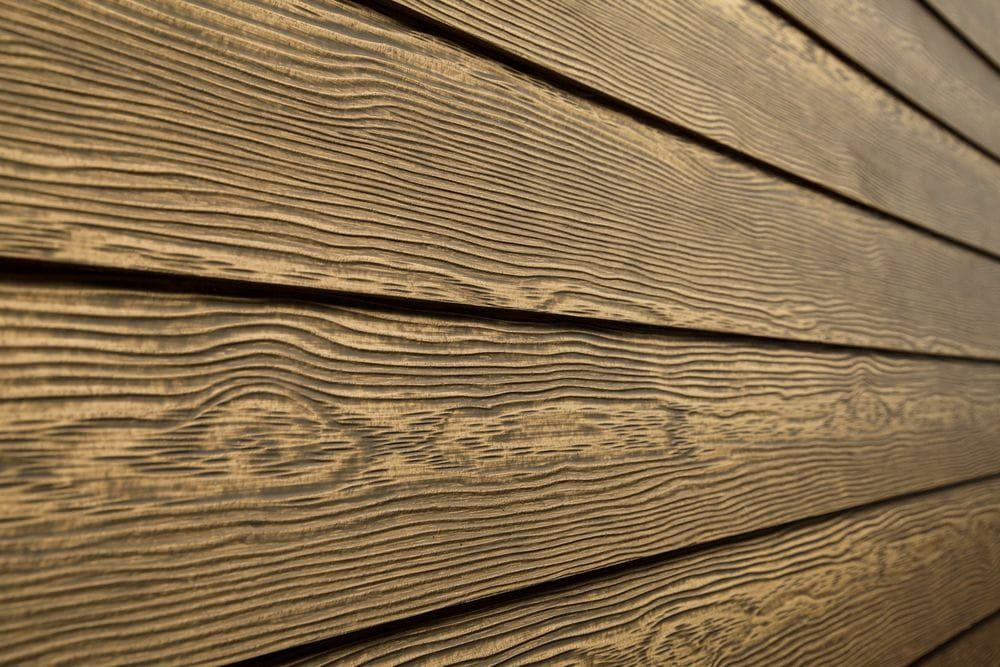 7 Popular Siding Materials To Consider: Very Stained Hardie Siding @AE54