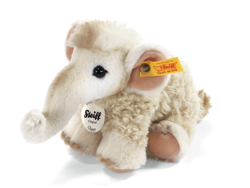 Clippy Baby-Mammut - Wildtiere - Kuscheltiere für Kinder - Kuscheltiere #steiff