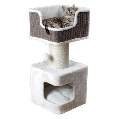 Trixie Pet Products Ava Cat Bed with Scratching Post - 44668