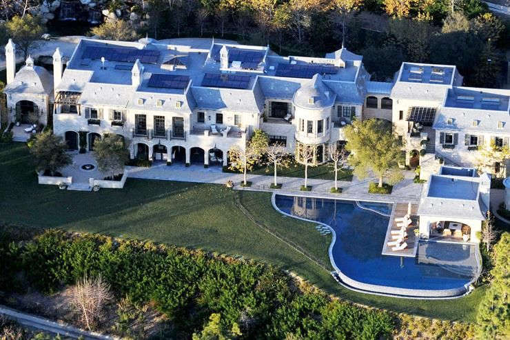 28 Amazing Celebrity Homes Worth Millions Mansions Celebrity