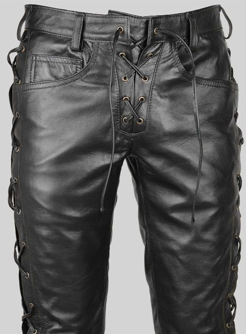 b610f33098 Laced Leather Pants - Style # 51550 Colors in 2019 | Leather Rando ...