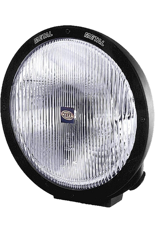 Hella H12560021 Rallye 4000 Series 12v 100w Halogen Euro Beam Lamp Black Housing Black Lamps Beams Halogen