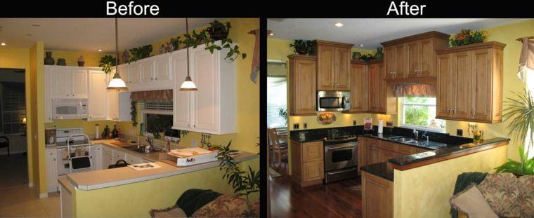 Cocinas reformadas - antes y después del gran cambio - | Pinterest ...