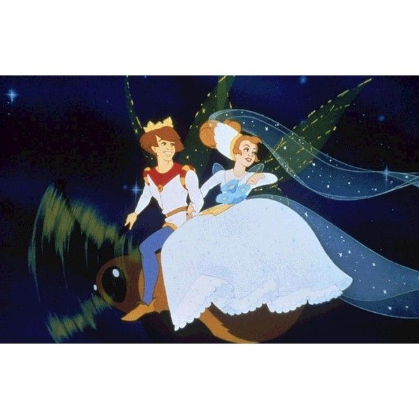 Thumbelina and Cornelius - Thumbelina Photo (6558491) - Fanpop ❤ liked on Polyvore featuring disney and thumbelina